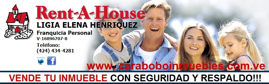 Carabobo Inmuebles Rent A House