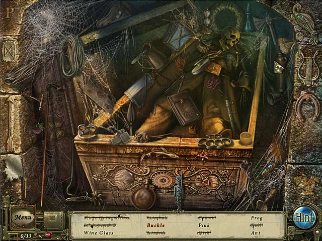 Dark Tales: Edgar Allan Poe's The Premature Burial Collector's Edition screenshot 5
