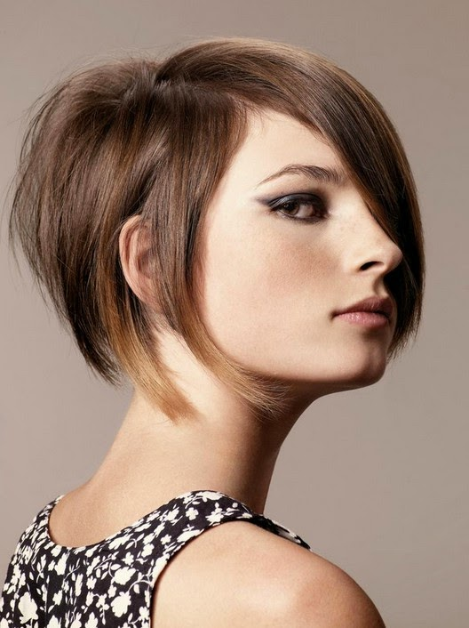 Funcky Stacked Bob Haircut