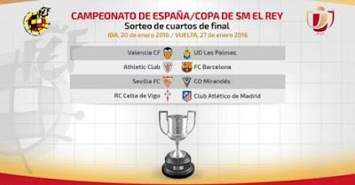 cuartos copa 2016