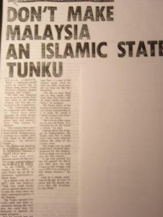 """is malaysia an islamic state """"is malaysia a secular or islamic state"""" without a doubt, this is one of the most  frequently asked questions in malaysian politics it is also one of."""