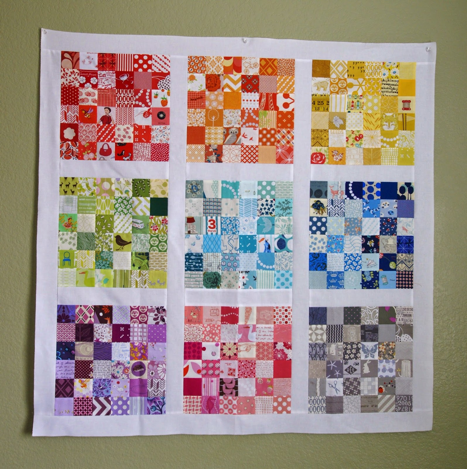 Summer Tourist Quilt from Sew Organized for the Busy Girl by Heidi Staples