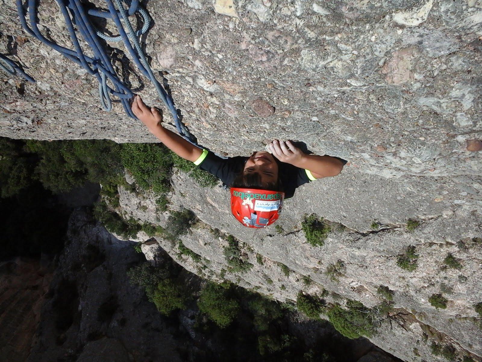 Via llarga a Montserrat  Bego Miguel Kush