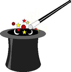 Le caf des pratiques atelier magie - Dessin de chapeau de magicien ...