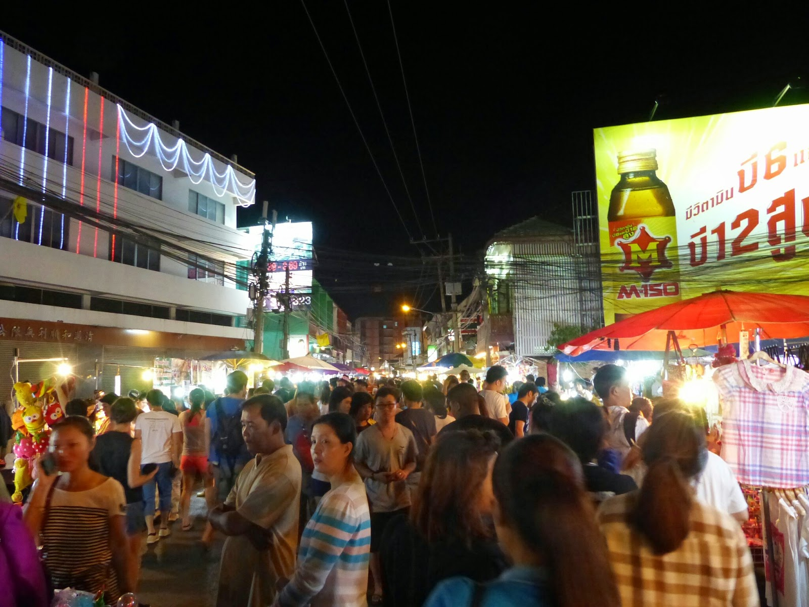Chiang-Mai's Wualai Road Saturday Night Market