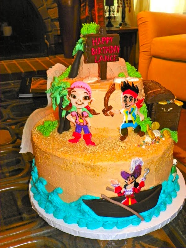 Jake and the Neverland Pirates Cake title=