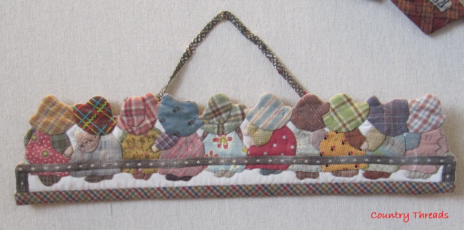 Country threads the miniature world of reiko kato - Reiko kato patchwork ...