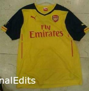 Arsenal 14 15 Away Kit