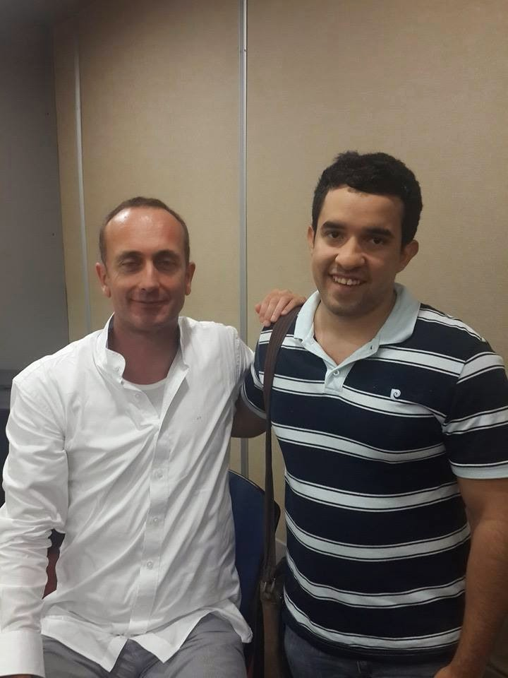 Con Andreas Forer