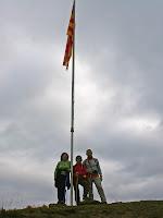 La bandera del Serrat del Lledó. Autor: Carlos Albacete