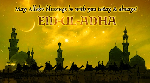 Best wishes on bakra eid