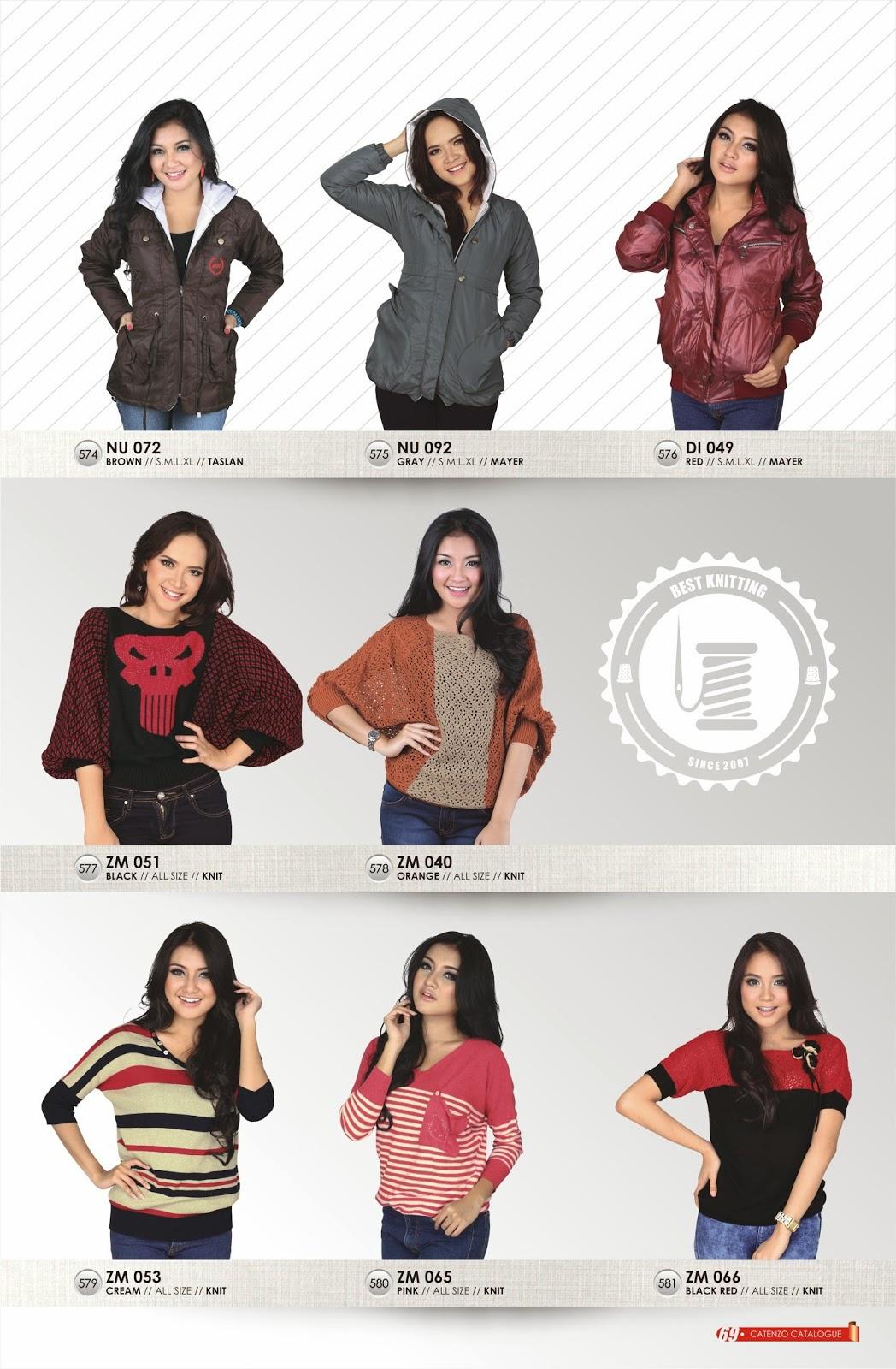 baju wanita trendi catenzo