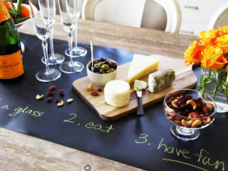 http://www.krisztinawilliams.com/2014/10/the-daily-find-chalk-board-table-runner.html