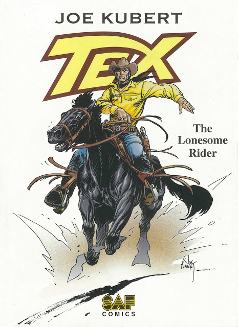Tex. The Lonesome Rider by Joe Kubert & Claudio Nizzi (2005)