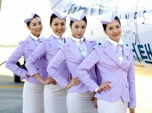 07SouthKorea252CT2527wayAirlinesAirHostess - Air Hostess From Different Countries