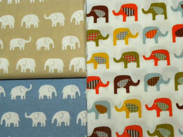 Elephant Fabric