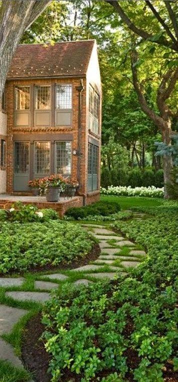 gambar taman rumah minimalis depan rumah