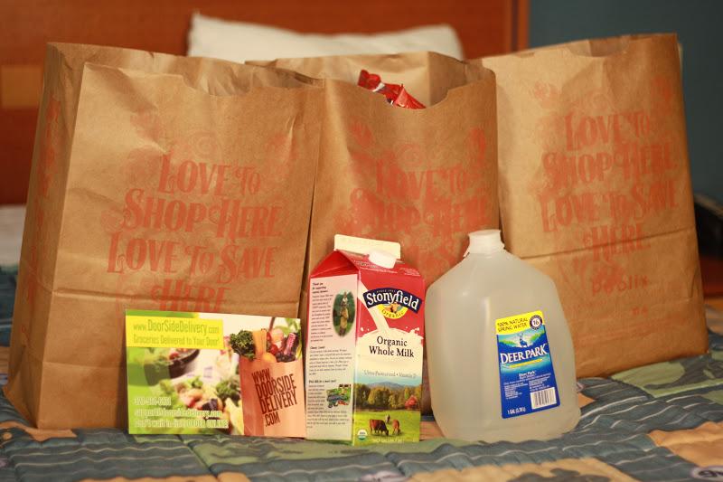 doorside grocery delivery service at walt disney world