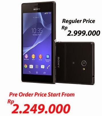 Sony Xperia M2 Single SIM mulai harga Rp 2.249.000