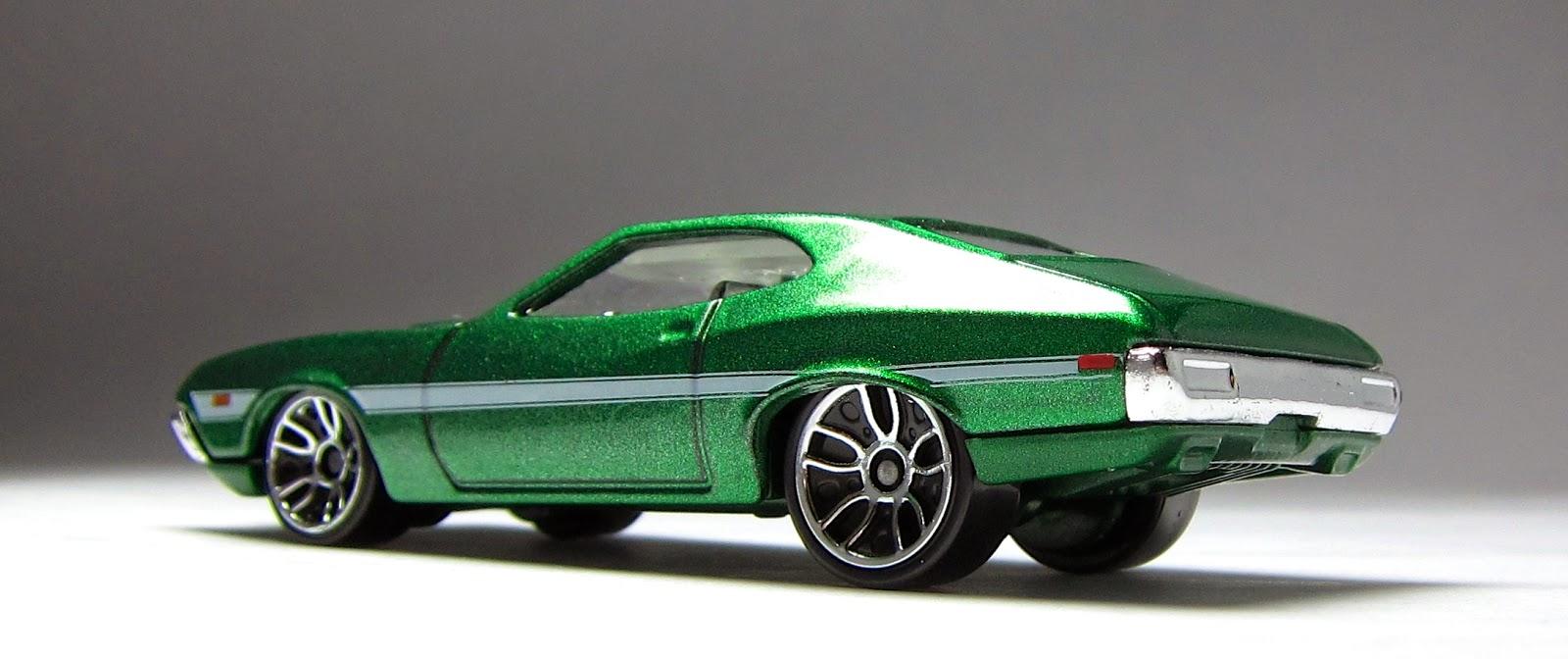 Hot wheels 72 ford gran torino sport 2014 fast furious exclusive