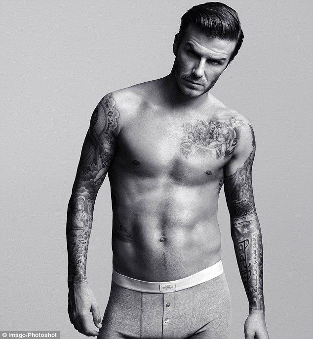 When Pictures Of David Beckham Posing In Skimpy Underpants Were