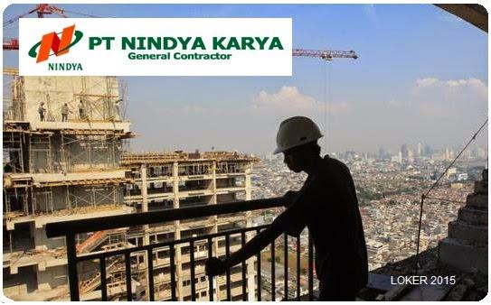 Lowongan BUMN Terbaru, Peluang karir Nindya karya, Info kerja BUMN