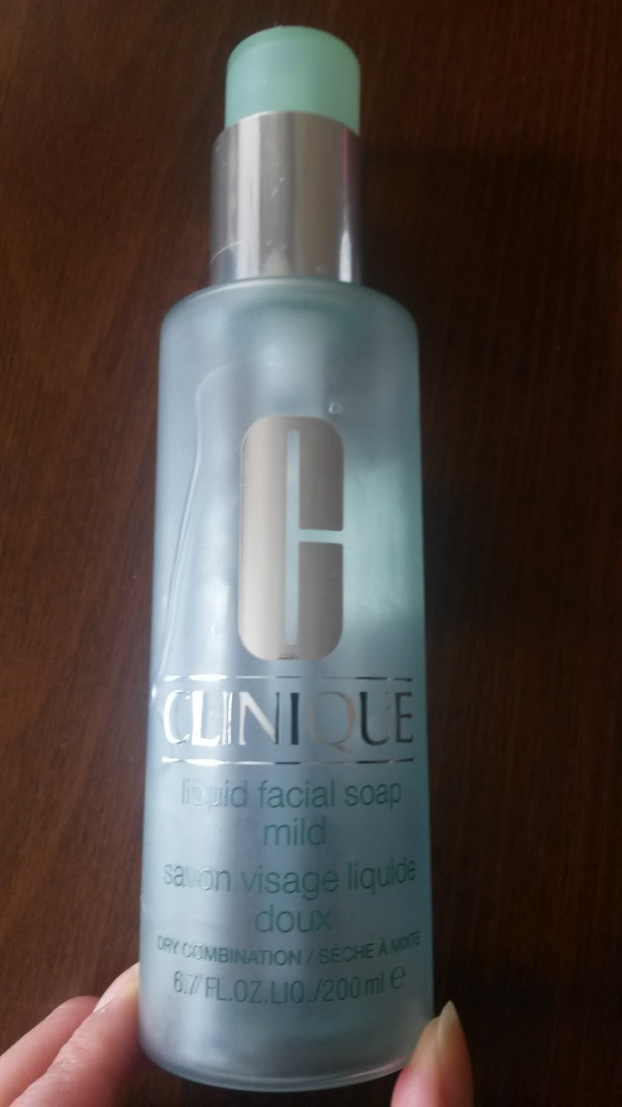 clinique liquid facial soap