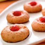 Receta de galletas de cereza