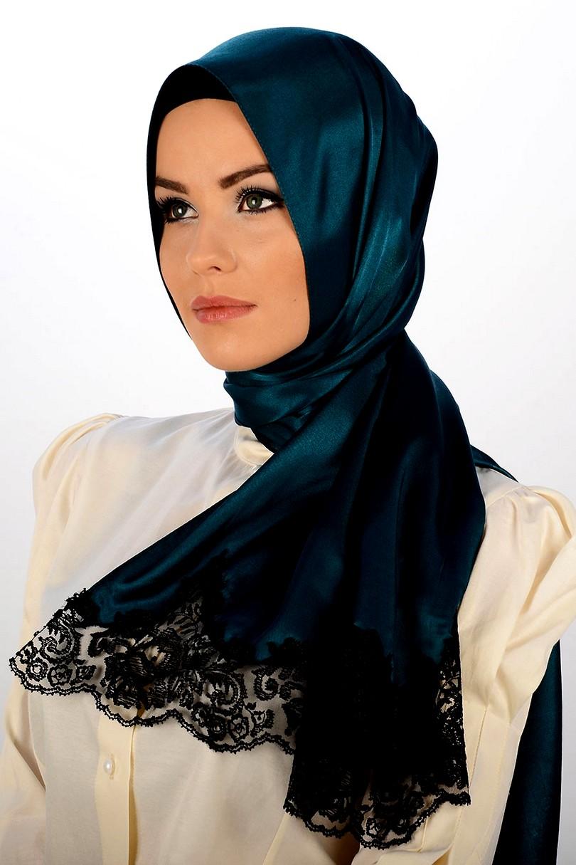 how to wear arabic scarf styles
