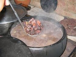 Feijão Preto com muito bacon