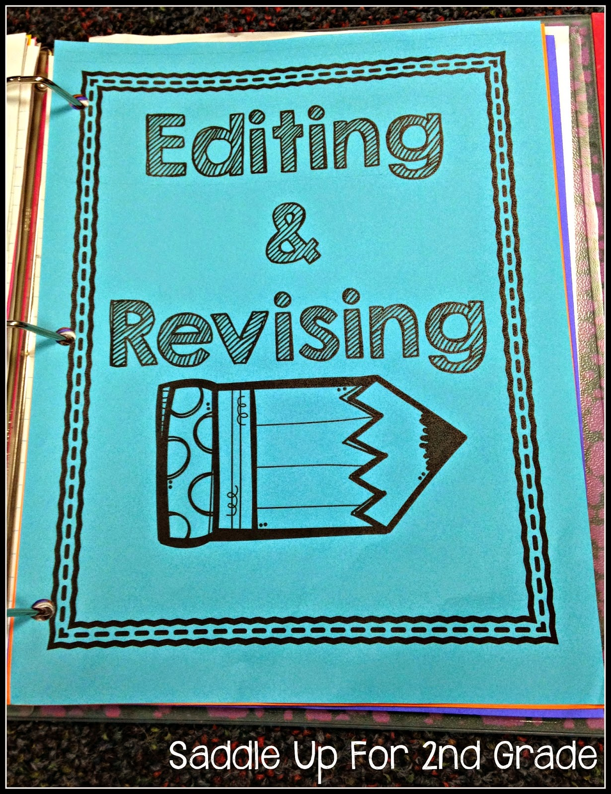 Setting Up a Writer's Notebook FREEBIE