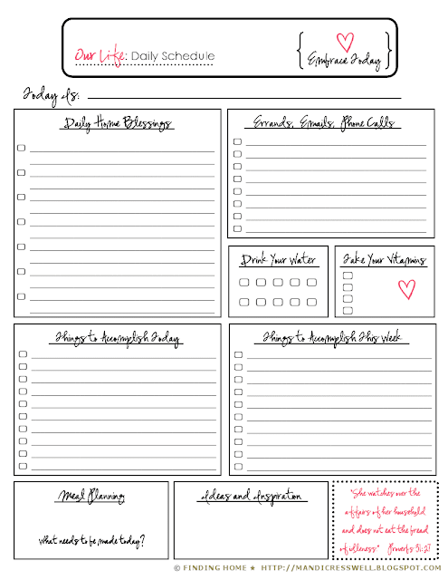 little of this...: Life Binder: Calendars