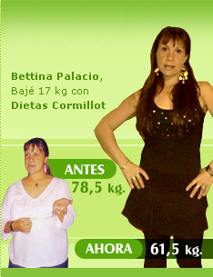 bajar 17 kilos 78 kilos 61 kilos con cormillot antes despues
