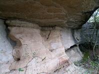 Parets de roques calcàries i gresos