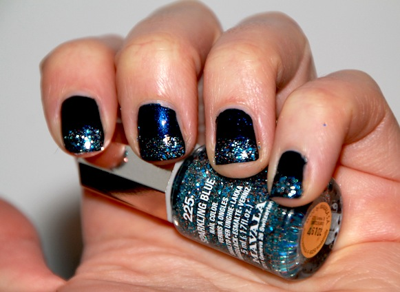 mavala show time collection noel 2011 sparkling blue 225 swatch test avis