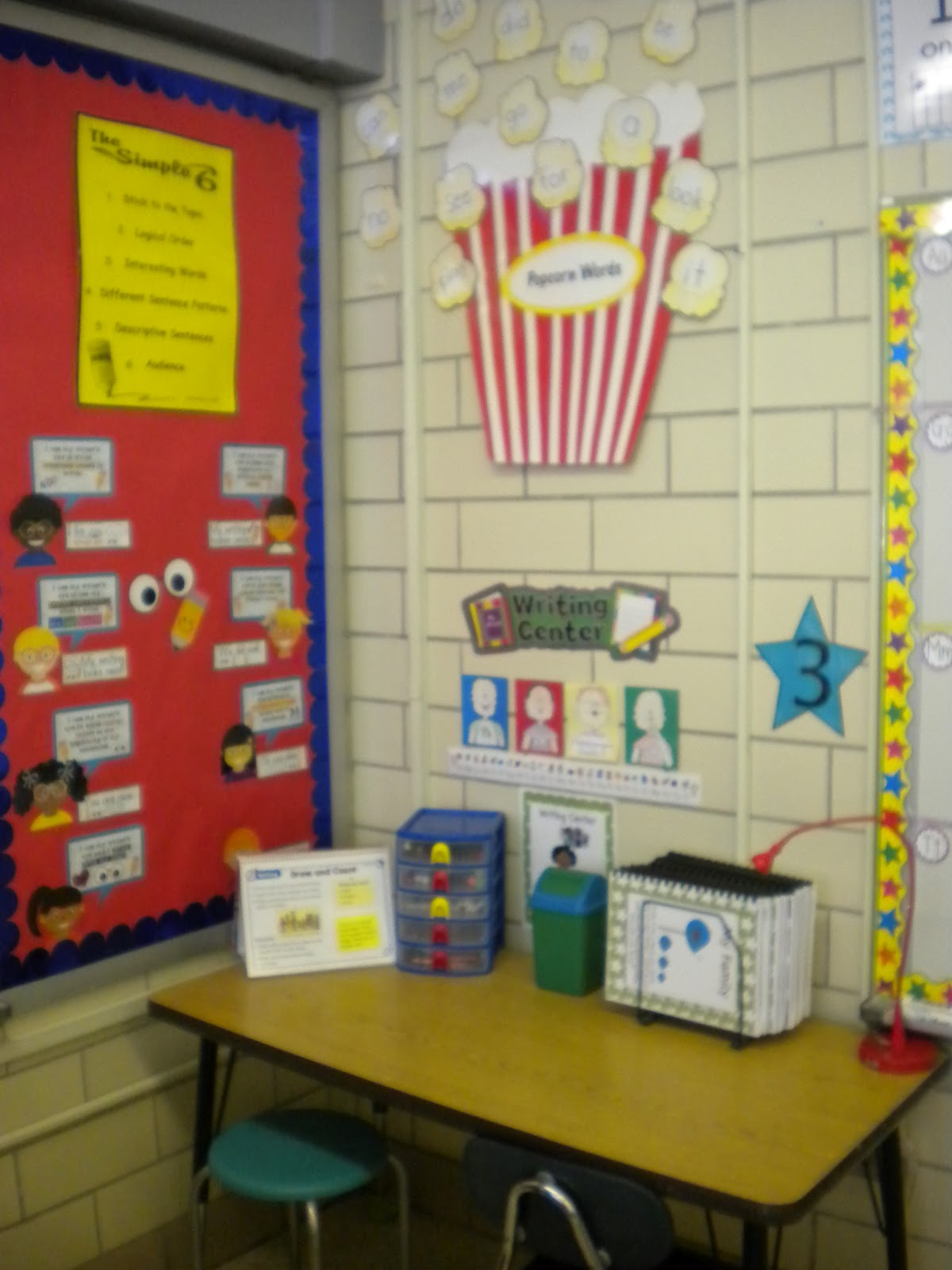 Classroom Writing Ideas ~ Primary possibilities classroom reveal first grade