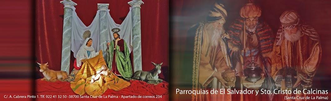 Parroquias de El Salvador y Sto. Cristo de Calcinas (Santa Cruz de La Palma).