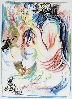 Karya Seni Lukisan Affandi