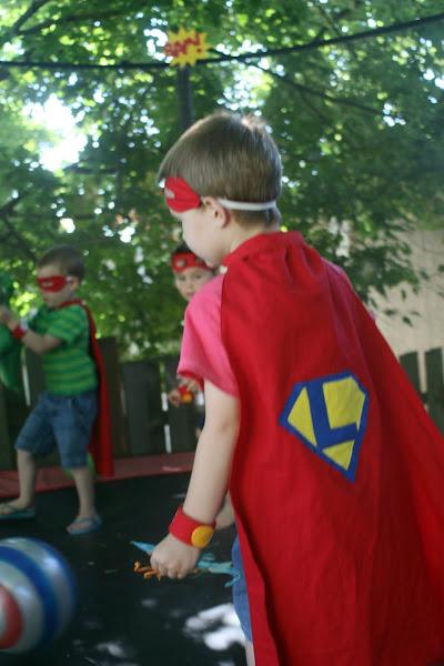 superhero party games activities cape