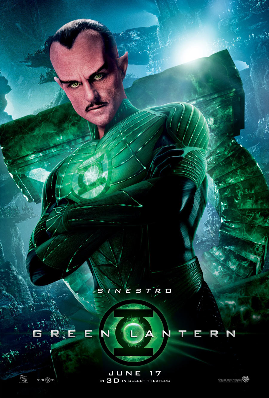 It is a graphic of Juicy Pictures of Green Lantern
