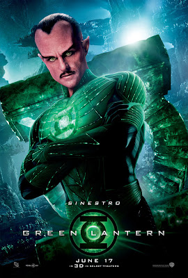 Green Lantern Character Movie Poster Set - Mark Strong as Sinestro