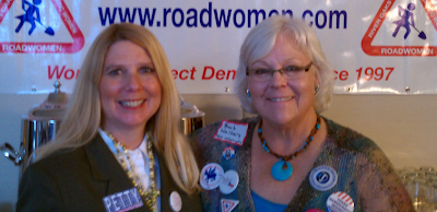 Supreme Court Candidate Michelle Petty and Barb Walters