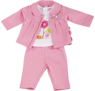 Tuc Tuc Fly Fly - Baby Girl 3 Pieces Pink Tracking Suit