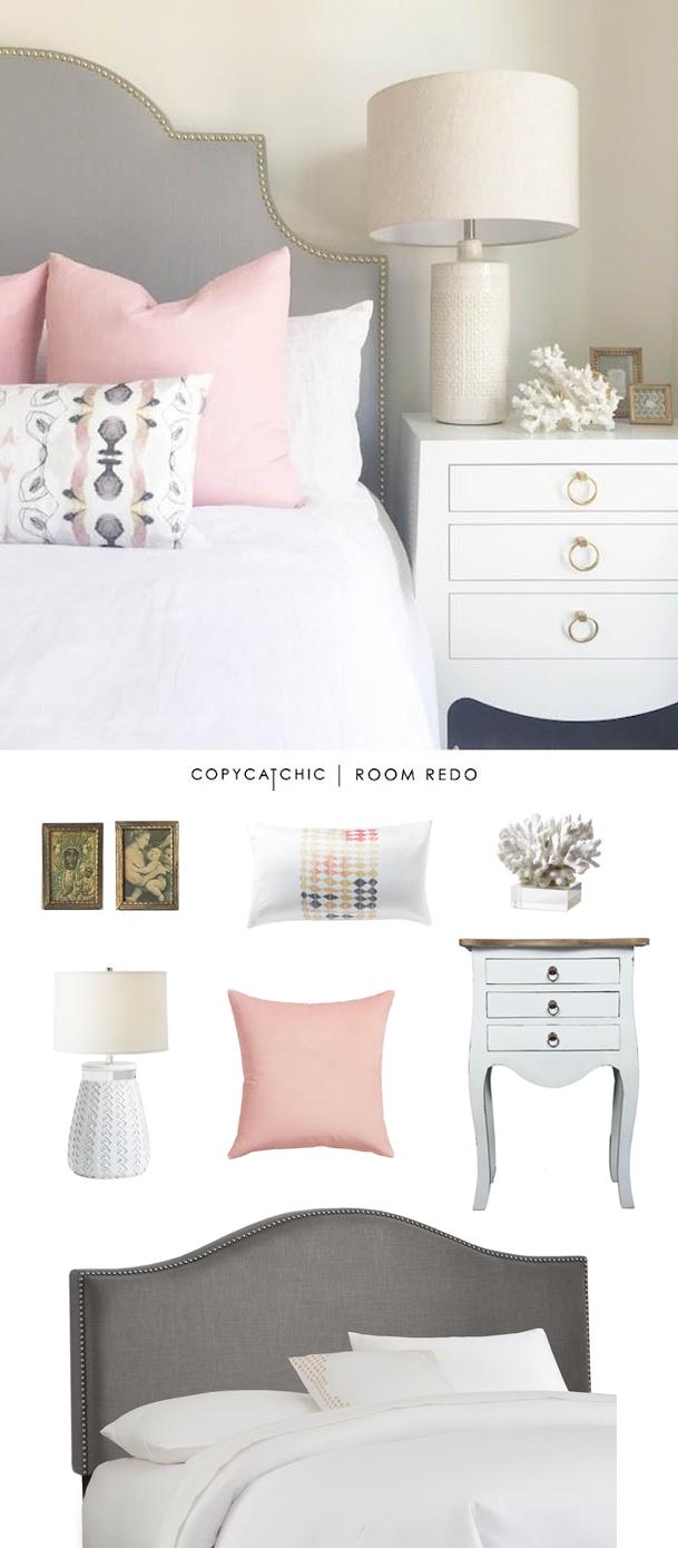 copy cat chic copy cat chic room redo pink gray bedroom