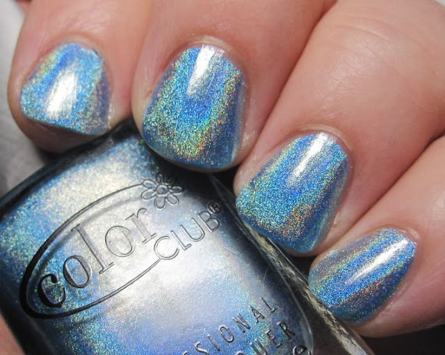 What a gorgeous blue holo!