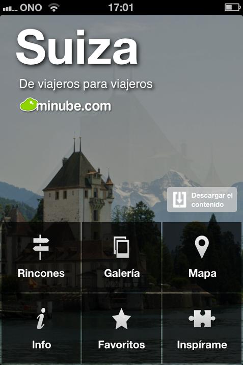 'Suiza - Guía de viaje'  de Minube.com