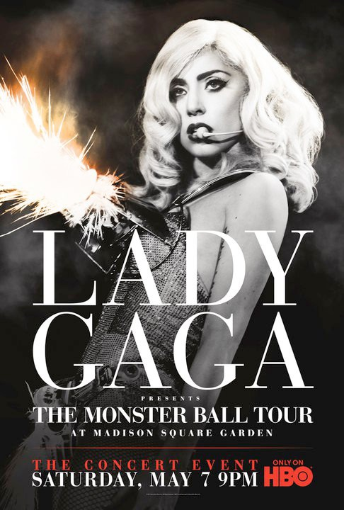 Filme Poster Lady Gaga Presents: The Monster Ball Tour PDTV XviD-FQM
