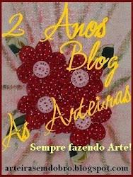 Selo comemorativo 2 anos do Blog