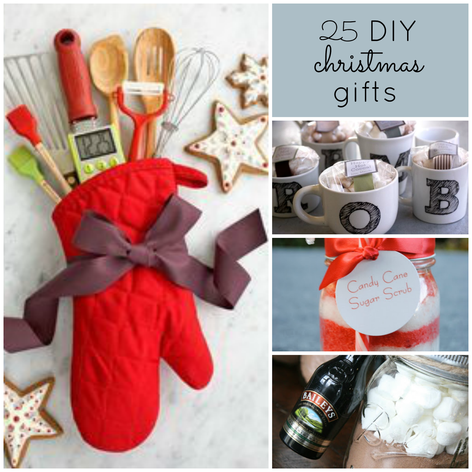 Good Ideas   25 DIY Christmas GiftsThe Upstairs Crafter  Good Ideas   25 DIY Christmas Gifts of Good Christmas Gifts For The Kitchen