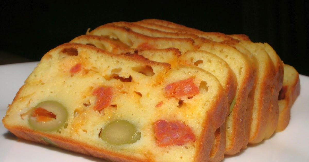 Cake Olive Chorizo Au Robot